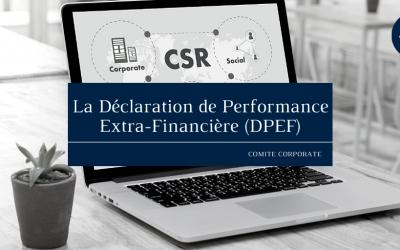 La déclaration de performance extra-financière (DPEF)