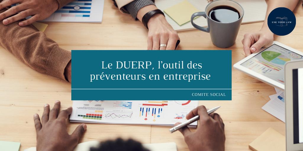 DUERP-outil-des-préventeurs-en-entreprises