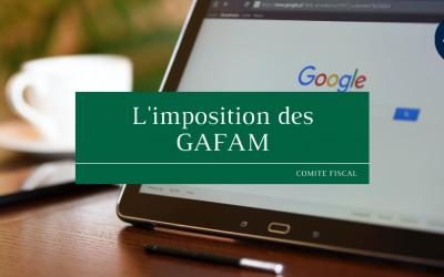 L'imposition des GAFAM