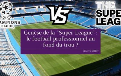 Genèse de la «Super League»: le football professionnel au fond du trou?
