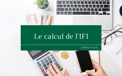 Le calcul de l'IFI