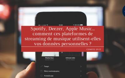 Spotify, Deezer, Apple Music… comment ces plateformes de streaming de musique utilisent-elles vos données personnelles ?