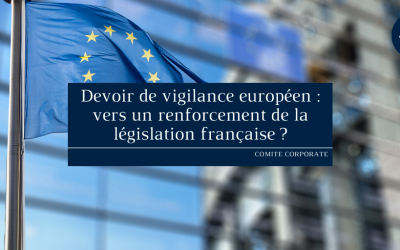 Devoir de vigilance européen : vers un renforcement de la législation française ?
