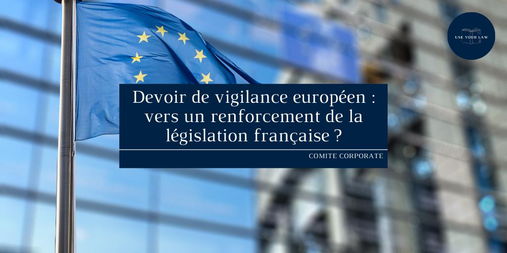Devoir de vigilance européen