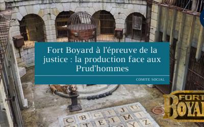 Fort Boyard à l'épreuve de la justice : la production face aux Prud'hommes