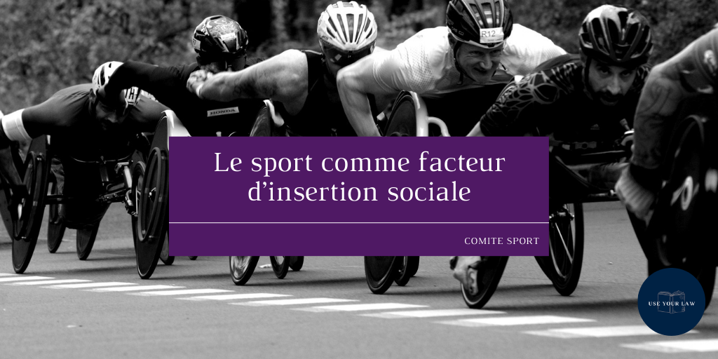 Le sport comme facteur d'insertion sociale