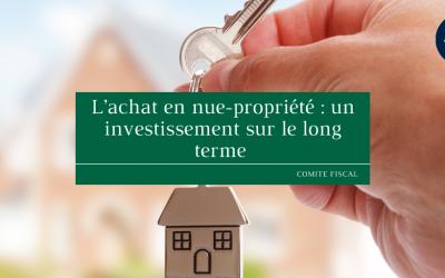 L'achat en nue-propriété : un investissement sur le long terme