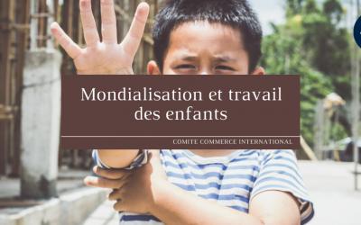 Mondialisation & travail des enfants