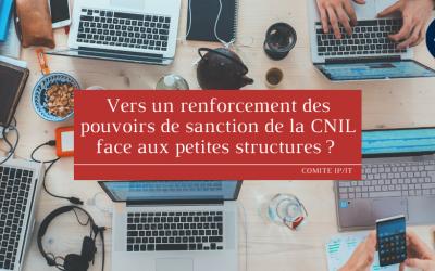 Vers un renforcement des pouvoirs de sanction de la CNIL face aux petites structures ?